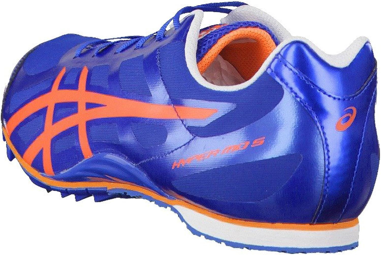 ASICS Hyper Media Distancia 5 Zapatilla De Correr con Clavos - 4: Amazon.es: Zapatos y complementos