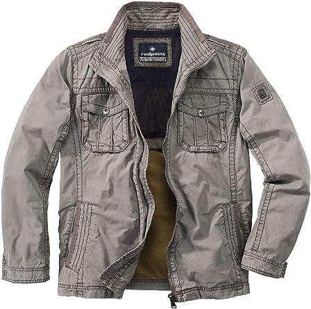 RED POINT Redpoint R702382349000 - Cazadora de algodón para Hombre, diseño Moderno: Amazon.es: Ropa y accesorios