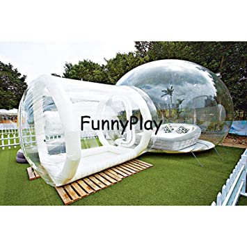 F&zbhzy Carpa Tienda de campaña Familiar lnflatable con Entrada de ...