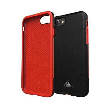 adidas Original Originals Dual Layer Hard Case para Apple iPhone 8 7 6S 6 Plus Funda Protectora Cover Rojo Teléfono Móvil Cover