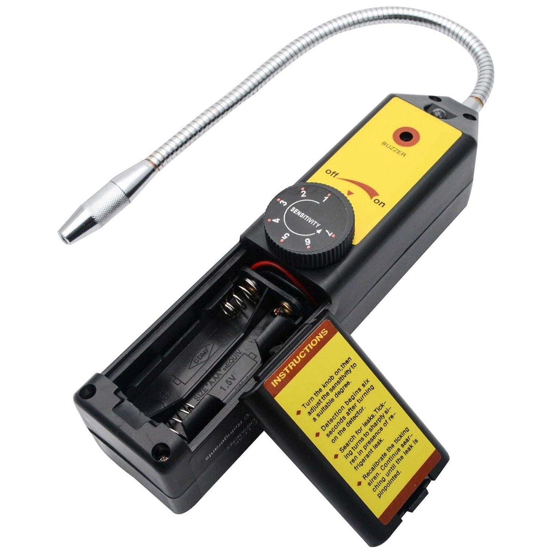 Halógena Corona - Detector de Fugas de Gas refrigerante comprobador R410 A R22 a R134 a: Amazon.es: Bricolaje y herramientas