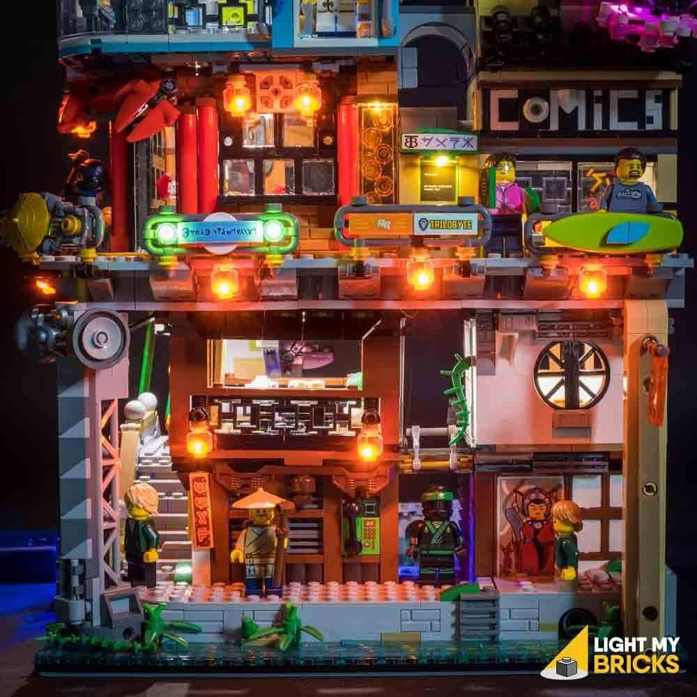 Lego® Ninjago City #70620 Light Kit: Amazon.de: Spielzeug