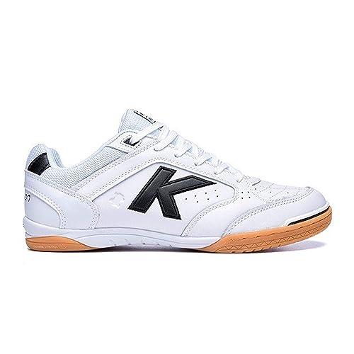 Kelme Precision One Piel, Zapatilla de fútbol Sala, Blanco-Negro: Amazon.es: Zapatos y complementos