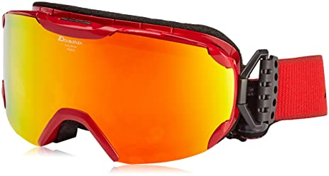 Amazoncom Alpina Mens Pheos Mm Ski Goggles Pheos MM Red - Alpina goggles