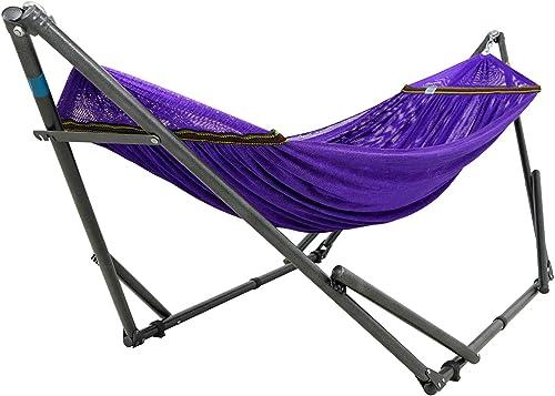 Tranquillo DHSR Hammock Stands, Steel – Purple