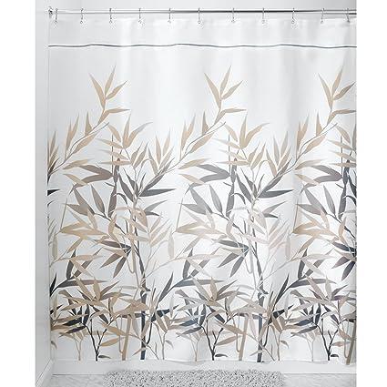 InterDesign 36532 Anzu Fabric Shower Curtain