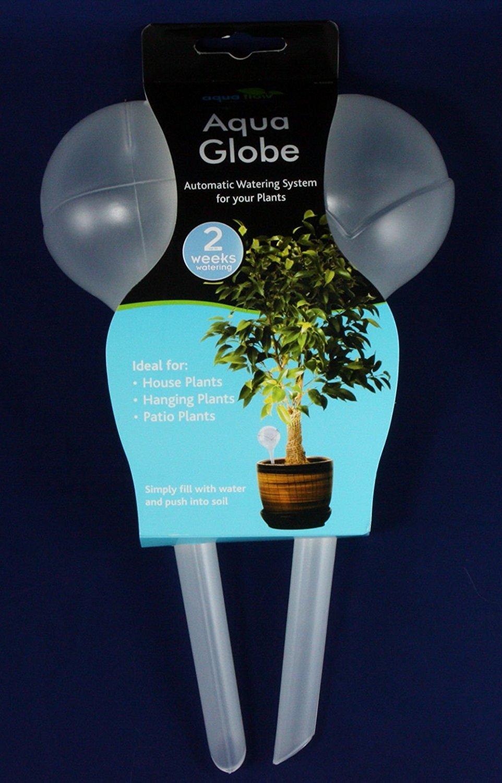 2 Plastic Water Bulbs Indoor Outdoor Plants 2 Weeks Plant Automatic Watering