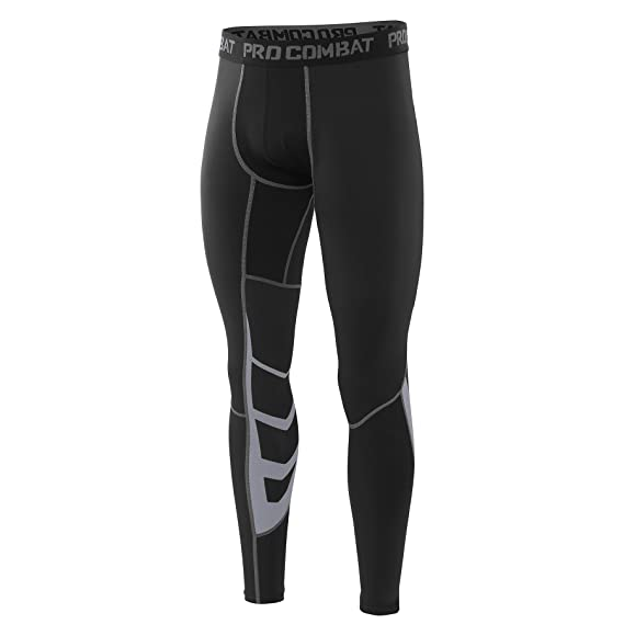 Tights Funktionswäsche Hose Pro Fitness Compression Pants Amzsport Cool Herren c3lKJTF1