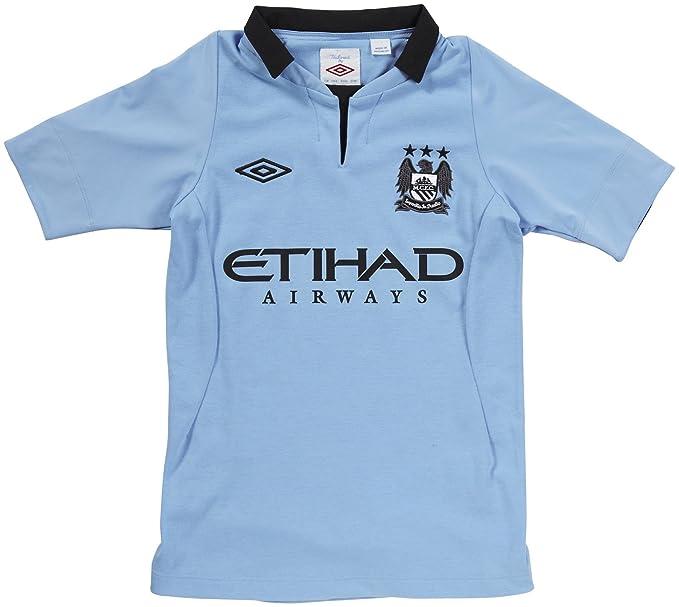 Camiseta Manchester City 1ª -Junior- 2012-13: Amazon.es: Deportes ...