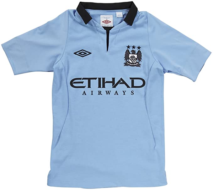 online store 52e67 ce7f5 Umbro Youth Manchester City Jersey, Medium