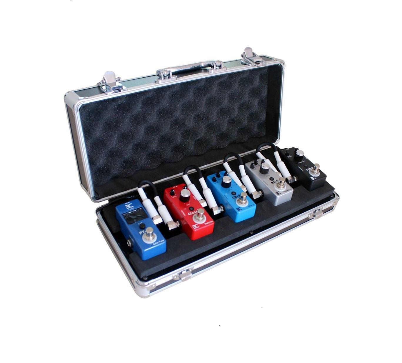 ENO EX QQ Case 5-Pedal Pedalboard/Electronic Guitar Effects Pedals Flight Case by Effects Pedals Flight Case (Image #9)