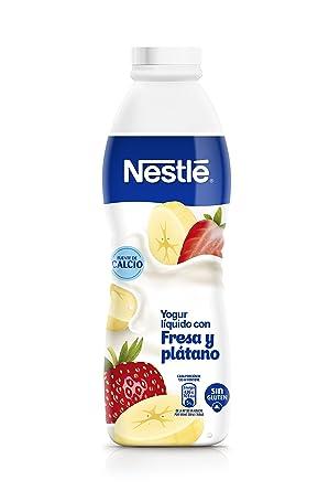 Nestlé, Yogur líquido (Fresa, Plátano) - 700 gr.