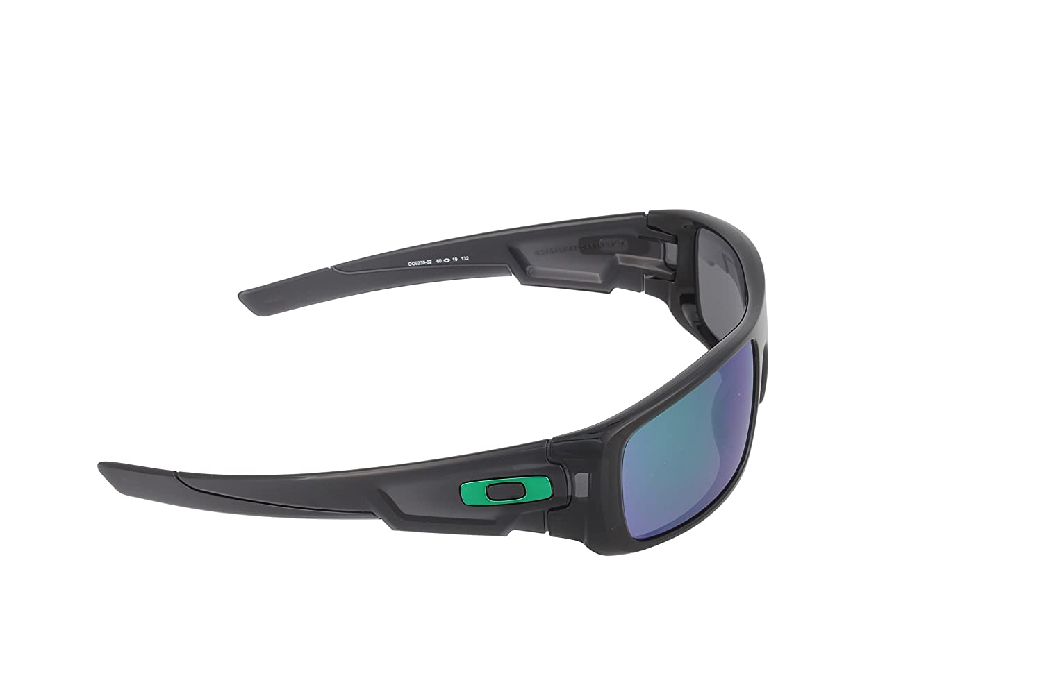 d793c4d72cb5f Oakley Crankshaft Sun Glasses Black Ink Jade Iridium Size TU  Oakley   Amazon.co.uk  Clothing