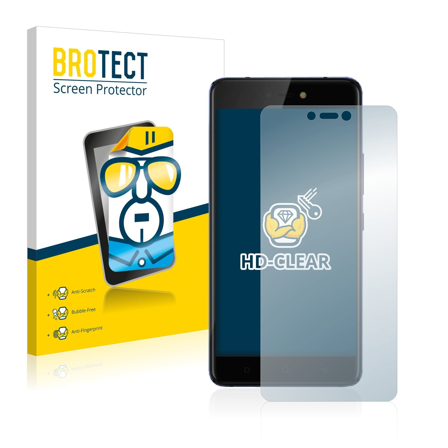 BROTECT for Tecno Phantom 8 Screen Protector - PET: Amazon