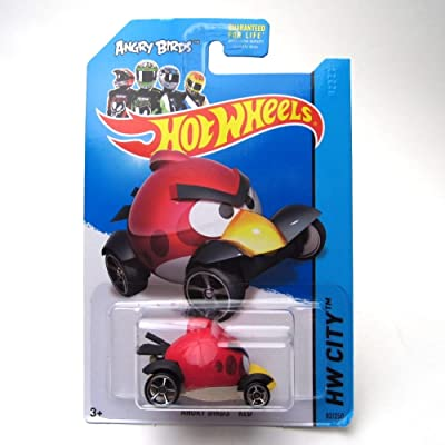Hot Wheels 2013 Angry Birds RED HW CITY 82/250: Toys & Games