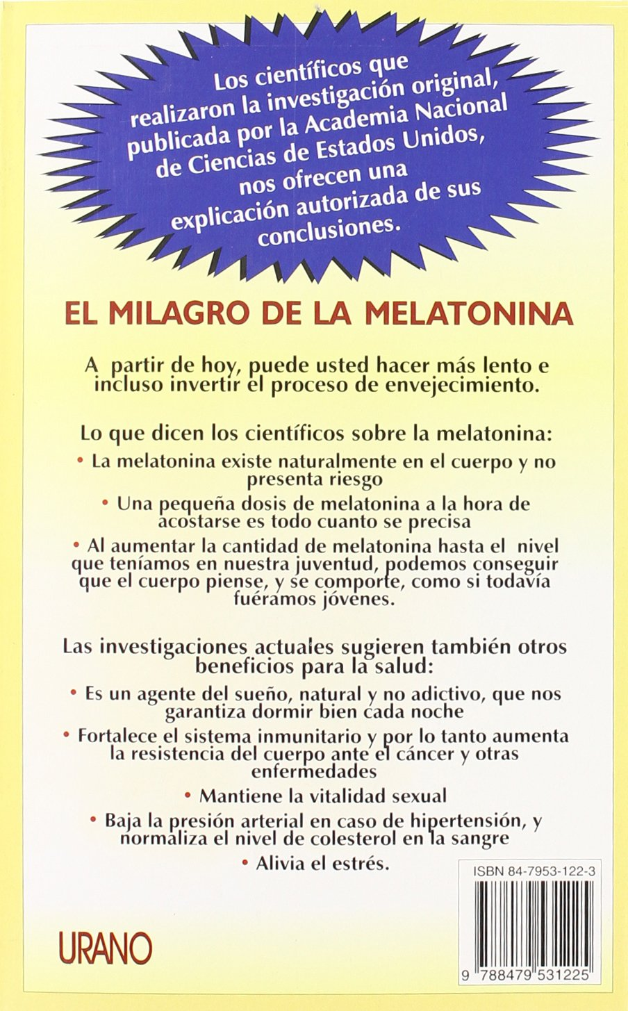 El Milagro de la Melatonina: Walter Pierpaoli, William Regelson ...