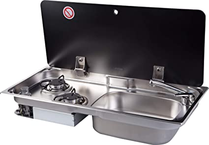 E Cooktops Find The Best Gas Cooktop For Your Boat Or Rv Dometic >> Amazon Com Gr 904rs Boat Caravan Rv Camper 2 Burner Lpg Gas Stove