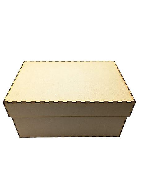 Caja de recuerdos de Navidad con corte láser, para ...