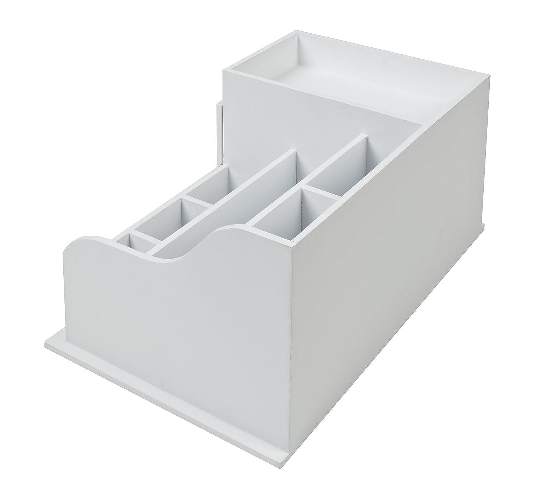 stile casa di campagna organizer bianco legno Scaffale//comodino dappoggio per gioielli