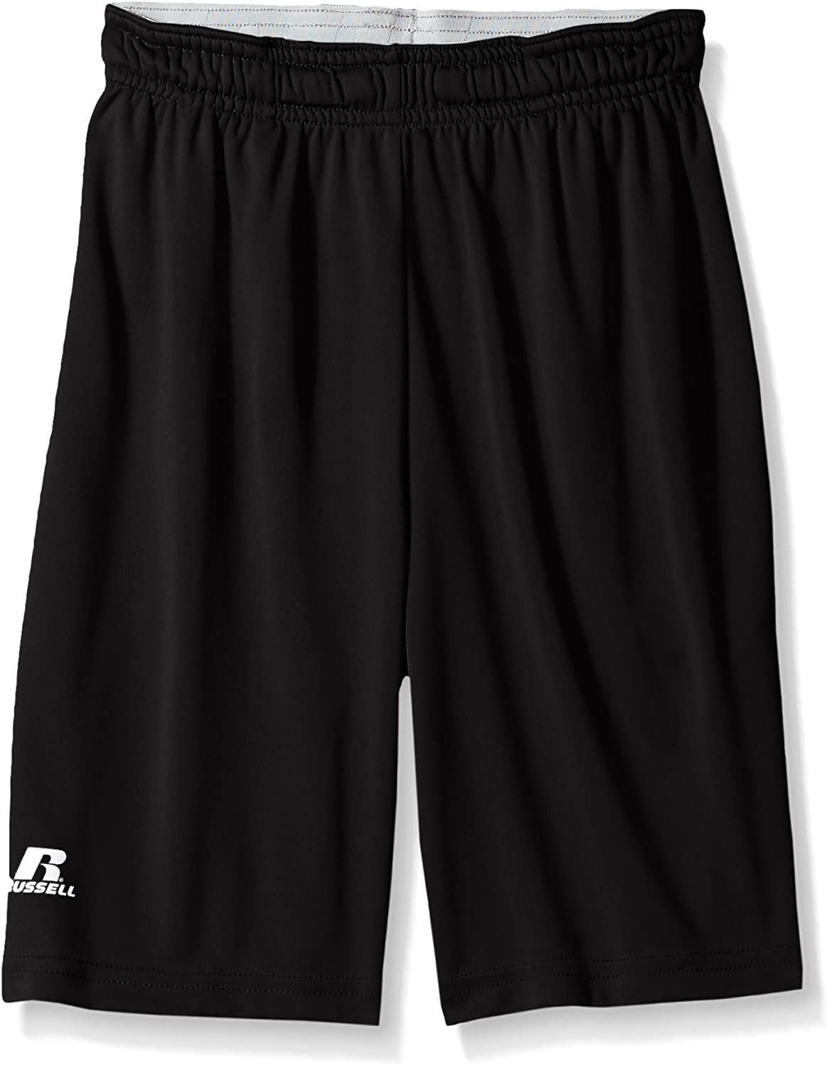 Russell Athletic Boys' Big Dri-Power Performance Short with Pockets: Clothing