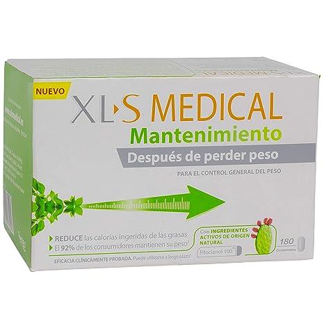 XLS Medical Mantenimiento - 180 comprimidos - Ayuda a mantener su peso tras una pérdida de peso inicial, ayudando a evitar las consecuencias del ...