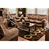 Catnapper Portman Two Tone 3 Piece Living Room Set. Sofa/love Seat/recliner