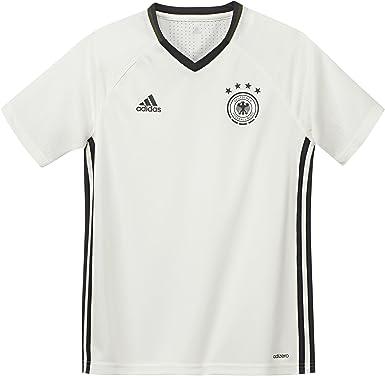 adidas T-Shirt UEFA Euro 2016 DFB Trainingstrikot Camiseta Selección de Alemania 2016/2017, Niños: Amazon.es: Ropa y accesorios