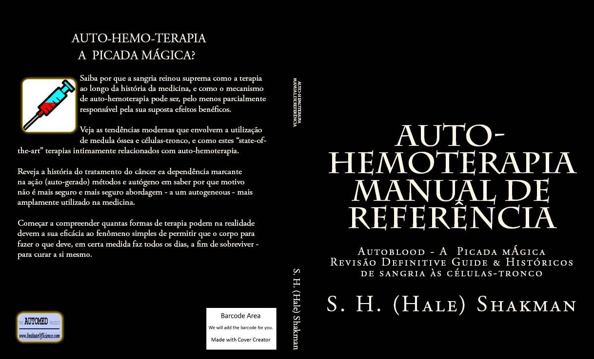 AUTO-HEMOTERAPIA - MANUAL DE REFERÊNCIA (The AUTOMED Project ...