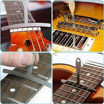 // Understring Radius Gauges f.d Radiuslehren-Set 9-tlg Gitarrenbau // Tonholz