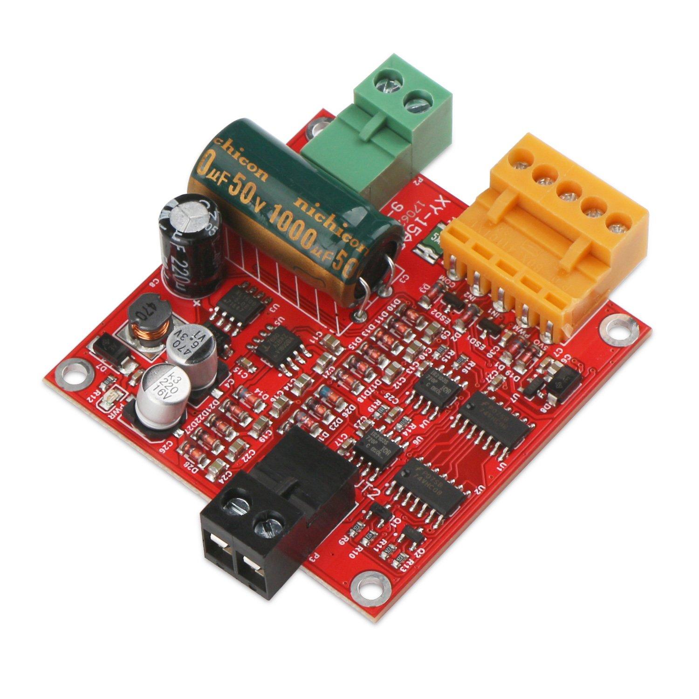 Drok L298 Dual H Bridge Motor Driver Dc 65v 27v 7a Control Circuit Diagram Board