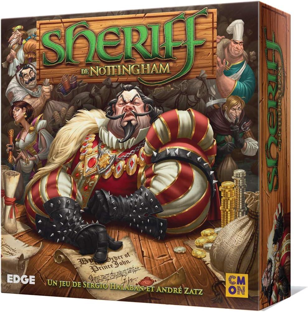 Fantasy Flight Games Edge Entertainment - El Sheriff de Nottingham, Juego de Tablero (EDGAW01): Amazon.es: Juguetes y juegos