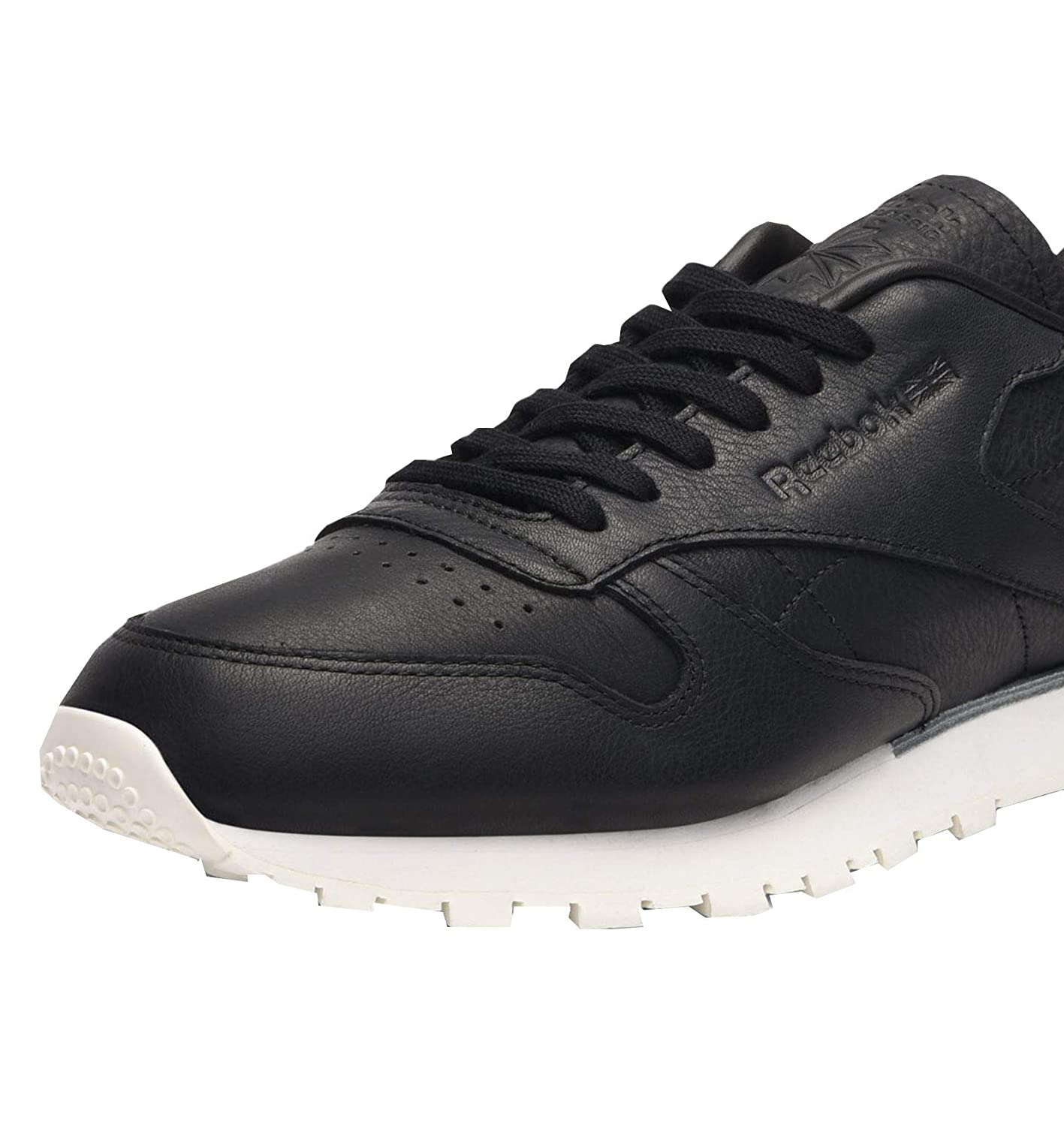 54d90565285 Reebok Classic Leather  Old Meets New  Mens Trainer BD1906 Black  Amazon.co. uk  Shoes   Bags