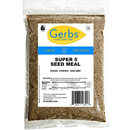 Ground Super 5 semillas de comida, 1 lb bolsa – Alergia ...