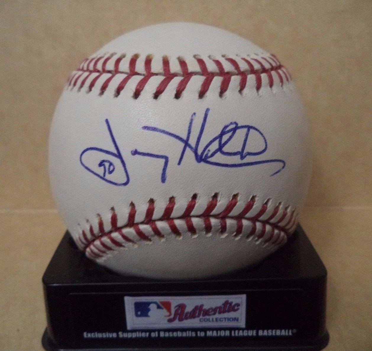 Joey Hamilton Signed Baseball - Reds M l W coa - Autographed Baseballs