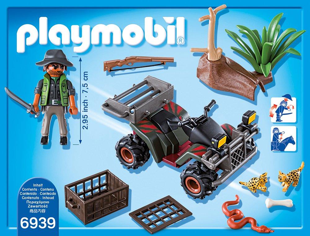 Playmobil 6939 Wilderer mit Quad Playmobil