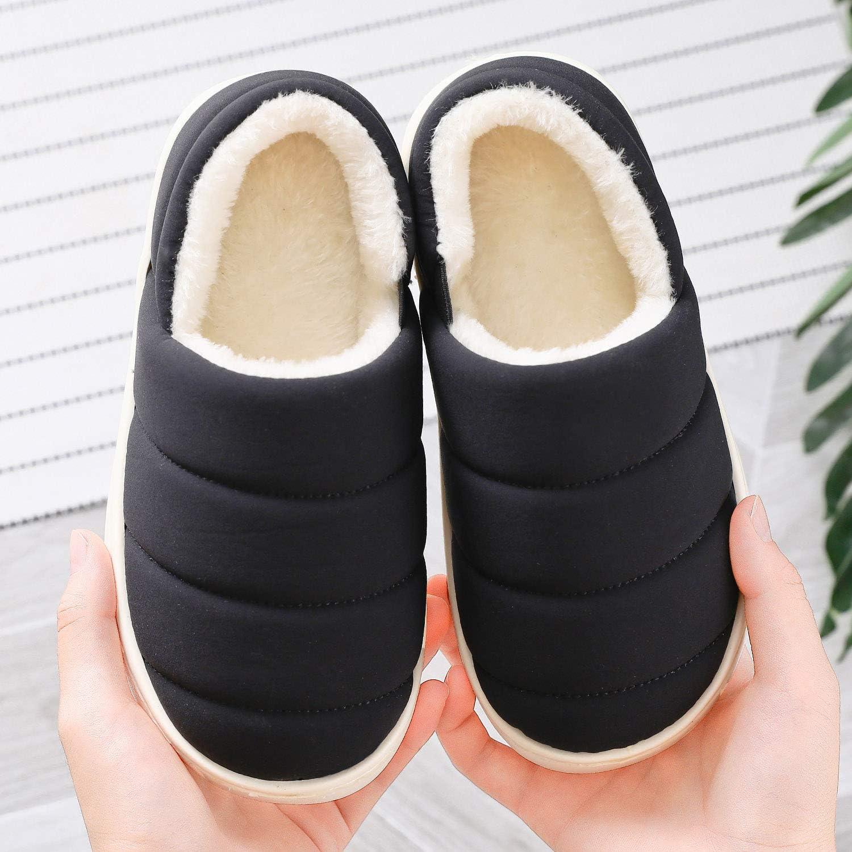 KVbabby Pantofole A Casa per Bambini Peluche Antiscivolo Scarpe delle Pantofole di Inverno Caldo Casa Pattini dei Ragazzi delle Ragazze
