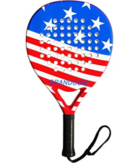 Amazon.com : DUNLOP Blitz Graphene Open Frame Padel Racket ...
