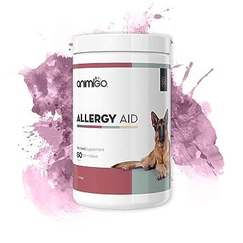 Ayuda para la Alergia en Perros 60 Comprimidos masticables: Amazon.es: Productos para mascotas