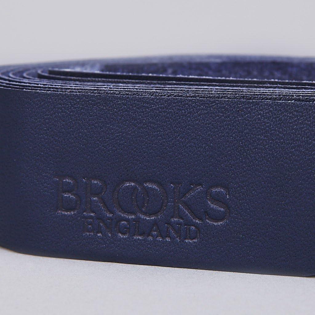 Brooks England Saddles Leather Bicycle Bar Tape with Plugs