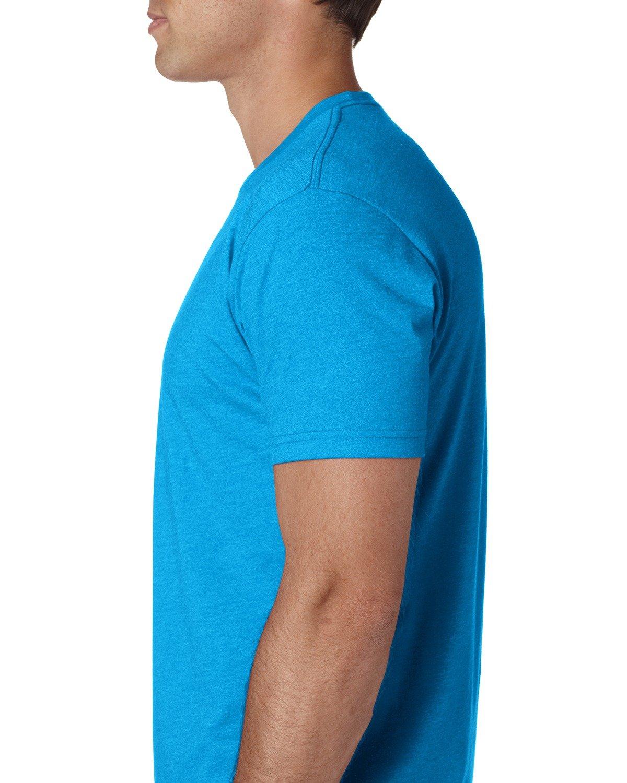 Next Level Apparel メンズ CVC クルーネック ジャージ Tシャツ B014WDBXC4 4L|ターコイズ ターコイズ 4L