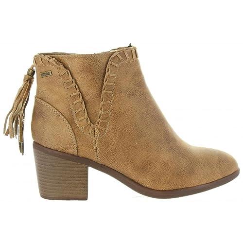 MTNG Mustang, 50123 C37910, Botin Taupe de Mujer, Talla 41: Amazon.es: Zapatos y complementos