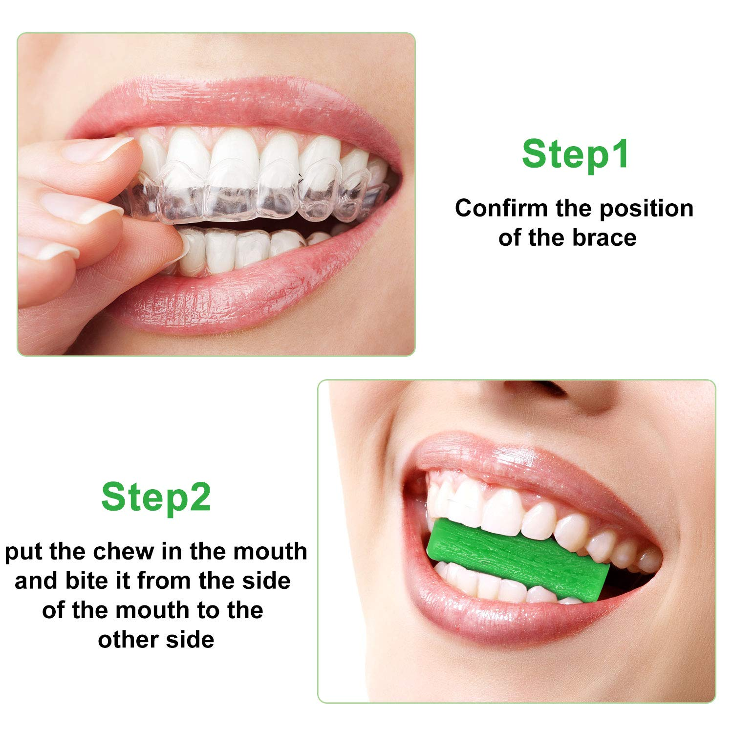 10 Pieces Aligner Chewies for Aligner Chompers Aligner Trays Seater Chewies : Beauty