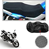 Vheelocityin No Heat Net Seat Cover Motorcycle/Bike/Scooty Seat Cover for Tvs Apache RTR 160
