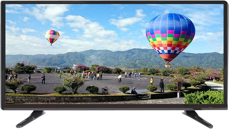 YILANJUN TV 4K Televisión Televisor Inalámbrica Smart LCD de Alta Definición de Red WiFi Inteligente de 30/32/43/50 Pulgadas, Compatible con Varios Dispositivos
