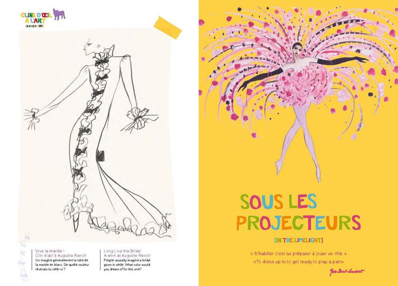 Coloring book yves saint laurent - Yves Saint Laurent Coloring Book Fondation Pierre Berg Yves Saint Laurent 9781551526393 Amazon Com Books