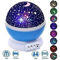 Elecstars Star Night Light Projector, 360 Degree Rotation Night Lamp