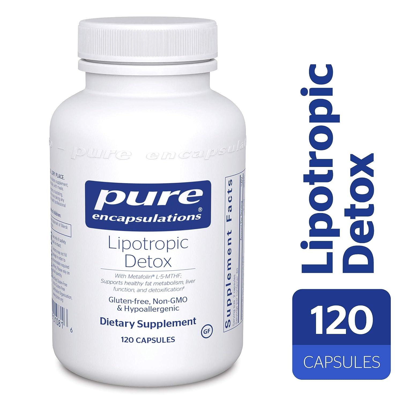Amazon Pure Encapsulations Lipotropic Detox Hypoallergenic