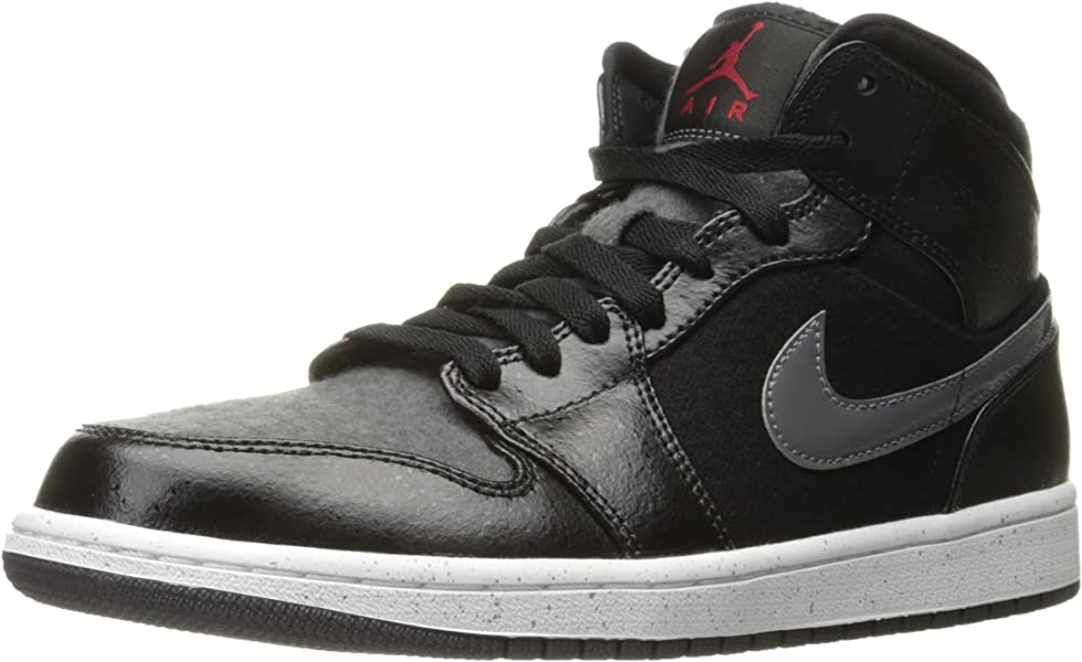 Amazon Com Jordan Air 1 Mid Premium Basketball