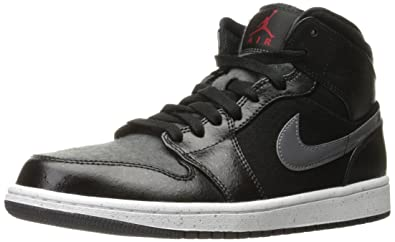 NIKE Air Jordan 1 Mid Premium Mens Basketball Shoes (11 D(M) US
