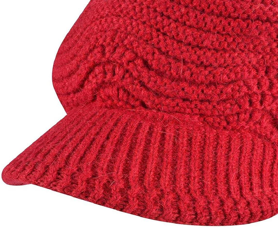 Yuson Girl Cappelli Invernali per Le Ragazze delle Donne Calde Calza Cappello di Sci di Neve di Neve della Neve con la Visiera